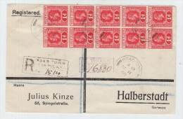 Virgin Islands/Germany REGISTERED COVER 1913 - British Virgin Islands