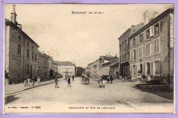 54 - BACCARAT -- Grande Rue Et Rue De L'Abattoir - Baccarat