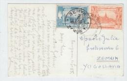 Burma/Yugoslavia POSTCARD 1955 - Myanmar (Burma 1948-...)