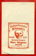 GERMANY SKULL COVER W1176 - Vecchi Documenti