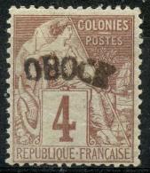 Obock (1892) N 3 * (charniere)