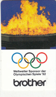 GERMANY(chip) - Brother(K 494), Tirage 5000, 10/91, Used - Jeux Olympiques