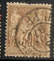 Timbres - France - 1876-1878 - Sage - Type 2 - 30 C. - N° 80 -