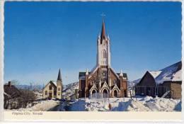 VIRGINIA CITY - Nevada, St. Mary's Church and St. Paul's Episcopal Church