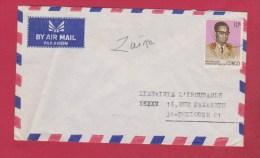 Zaire //  Enveloppe  //  Par Avion    // Pour Toulouse  // - Autres