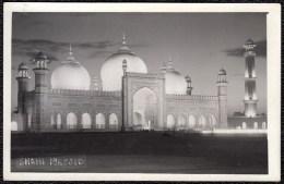 RARE PHOTOCARD - CARTE PHOTO RARE -- SHAHI MASJID AT LAHORE - Pakistan