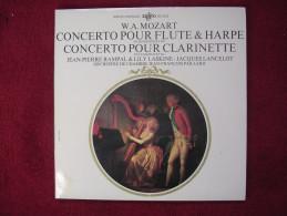 Mozart - Concerto Pour Flute Etharpe, Et Concerto Pour Clarinette - Orchestre J.F. Paillard - Avec Rampal Et Laskine - Classique