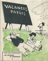 Superbe Publicité Vacances Languedoc Cévennes Dessinée Par Raoul GUERIN - Advertising