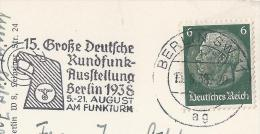 15. Grosse Deutsche RundfunkAusstellung BERLIN 1938  BKA-635 - Empfänger