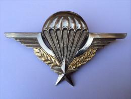 Brevet Parachutiste Français De Fabrication SEGALEN 1984 - Militaria