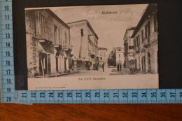 1907 TERAMO   GIULIANOVA  Rara, Bella Animazione Via  XXIX Settembre. Viaggiata - Teramo