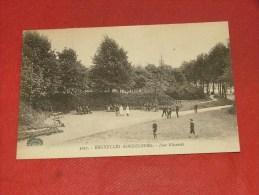 BRUXELLES -  KOEKELBERG  -  Une all�e du Parc   -  1904  -  (2 scans)