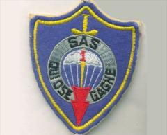 PARA.  SAS 1° Régiment De Parachutiste Infanterie De Marine Qui Ose Gagne - Stoffabzeichen