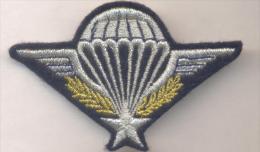 PARA Brevet Parachutiste  Tissu écusson - Stoffabzeichen