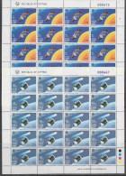Europa Cept 1991 Cyprus 2v 2 Sheetlets ** Mnh (F2112) - Europa-CEPT