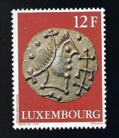 Luxenbourg - Zegel Met Waardeaanduiding 12F - Geldstuk -Musée De L'etat - Postfris - Luxembourg