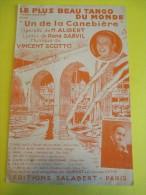 Le Plus Beau Tango Du Monde/ Alibert/ Vincent Scotto / 1930-1940   PART46 - Partitions Musicales Anciennes