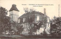 82 - Vigueron - Château De Manaud, Près Beaumont-de-Lomagne - France