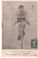 CYCLISME - DARRAGON - ALBATROS - BLAYE - 1908 - Cyclisme
