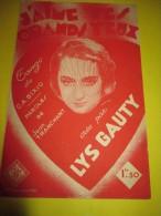 J'aime Tes Grands Yeux / Lys Gauty/jean Tranchant /1936      PART51 - Partitions Musicales Anciennes