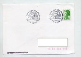 Lettre Cachet Dijon Poste Grangier - Marcophilie (Lettres)