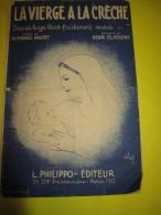 La Vierge à La Crêche/Alphonse Daudet/ Henri Classens  /1951     PART53 - Partitions Musicales Anciennes