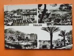 V09-84-83-souvenir De Toulon-multivues-4 Vues-carte Photo-- - Toulon