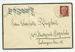 Allemagne Démocratique Enveloppe De 1952 - DDR