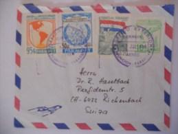 Paraguay Lettre De Asunçion 1986 Pour Rickenback - Paraguay