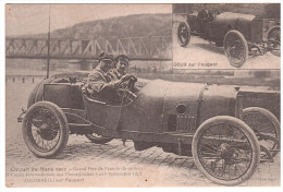 AUTOMOBILE - LE MANS - 1912 - ZUCCARELLI - PEUGEOT - édition 1981. - Le Mans