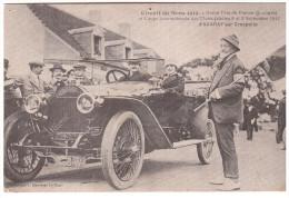 AUTOMOBILE - LE MANS - 1912 - AVARAY - CRESPELLE - édition 1981. - Le Mans