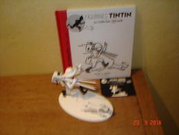 EDITION MOULINSART       TINTIN CINEASTE ET MILOU DANS TINTIN AU CONGO - Tintin