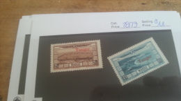 LOT 224488 TIMBRE DE COLONIE MAROC NEUF* N�28/29 VALEUR 11 EUROS