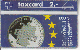 SWITZERLAND(L&G) - ECU 3/Germany, CN : 212L48453, tirage 1000, 12/92, mint