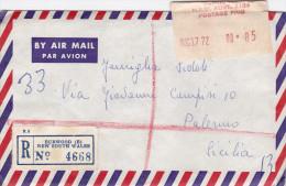 AUSTRALIA  /  ITALIA ( Palermo )  -  Cover _ Lettera _ Commemorativo Isolato - 1966-79 Elizabeth II