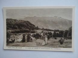 CPA 73 Col De TAMIE Village Et Montagnes Du Corbeau - Autres Communes