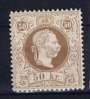 �sterreich 1867 Mi nr 41  II  MH/*  perfo 13