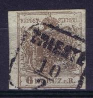 Österreich 1850 Mi Nr 4 X  Used TRIEST Cat Value Ferchenbauer  € 70 - 1850-1918 Impero