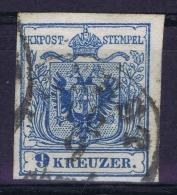 Österreich 1850 Mi Nr 5 Y Used TRIEST  Cat Value Ferchenbauer  € 600 - Gebraucht