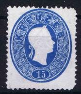 �sterreich 1860 Mi nr 22  not used  (*)