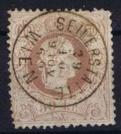 Österreich 1867 Mi Nr 41 II D Used Oerfo 12 - 1850-1918 Imperium