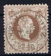 Österreich 1867 Mi Nr 41 II D Used Oerfo 12 - 1850-1918 Empire