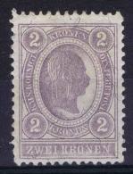 �sterreich 1889 Mi nr 85 MH/*
