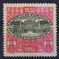 �sterreich 1910 Mi nr 175 not used (*)