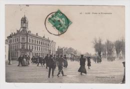 81 - ALBI - POSTE Et PROMENADE - 30 Octobre 1914 - N° 42 - 2 Scans - - Albi