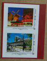 LFV2 Paris : Moulin Rouge / Bouquiniste (autocollants / Autoadhésifs) - France