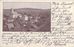 Tchéquie, Orličky, Dörfel + Censure, Timbre D'Autriche (16.1.16) - Tchéquie
