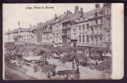 Carte Postale - LIEGE - Place Du Marché - CPA  // - Liege