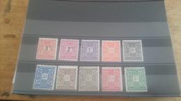 LOT 224495 TIMBRE DE COLONIE MAURITANIE NEUF* N�17 A 26 VALEUR 15 EUROS