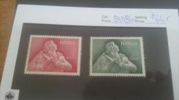 LOT 224496 TIMBRE DE PORTUGAL NEUF* N�839 A 840 VALEUR 64,5 EUROS